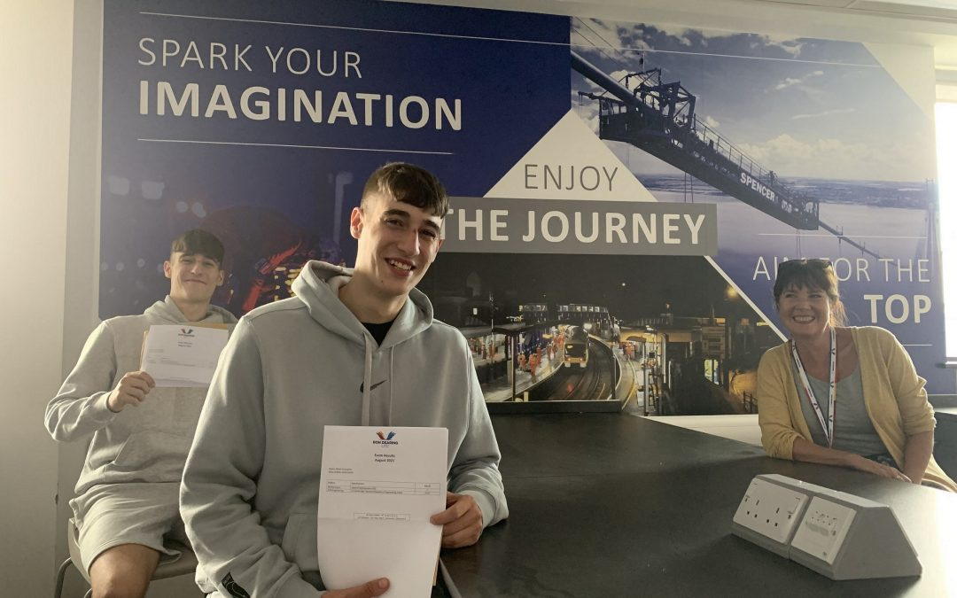 Ron Dearing UTC students' delight at outstanding A-level and technical results