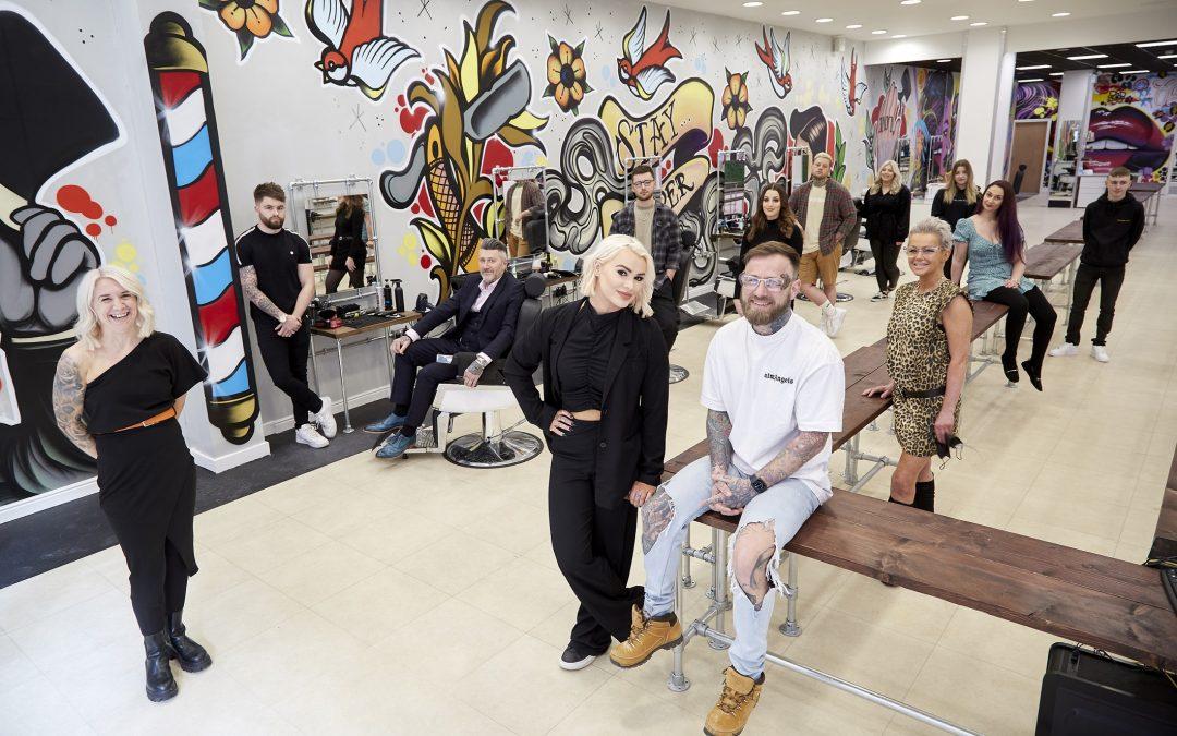 Street art-styled salon turns heads at Flemingate