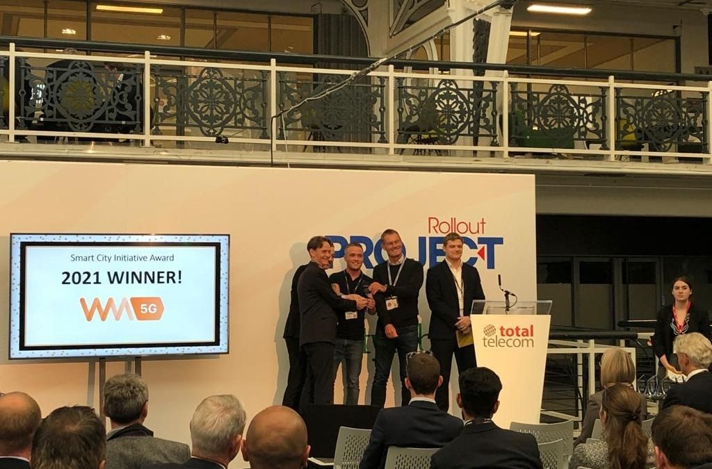 Revolutionary 5G-enabled road and rail transport projects recognised at Connected Britain Awards