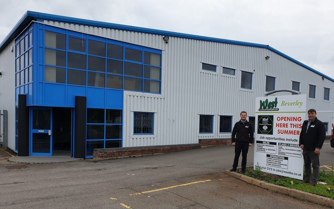 Ten jobs created as West Building Supplies expands into Beverley