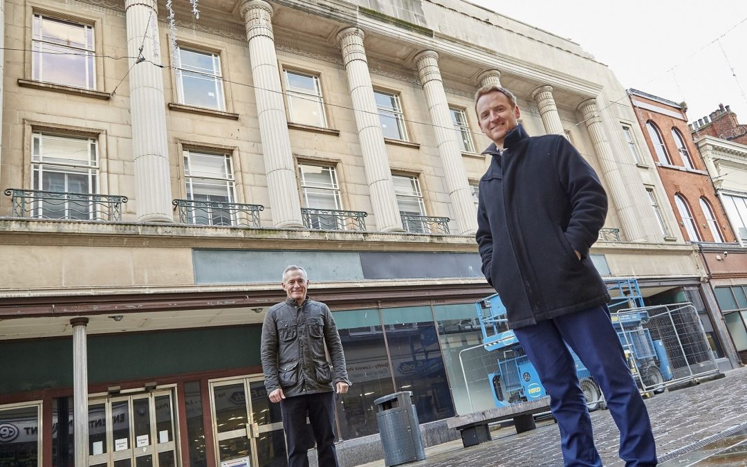 Landmark Whitefriargate buildings given sensitive facelift