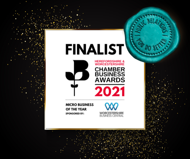 Worcestershire Public Relations firm You Do Better PR named as finalist in Business Awards
